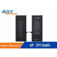 Quality ACCX brand new high quality li-polymer internal mobile phone battery for IPhone 6Puls with high capacity of 2915mAh 3.8V for sale