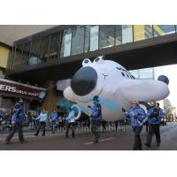 Quality Inflatable Large Advertising Balloon 0.18mm PVC Tarpaulin Character Shaped for sale