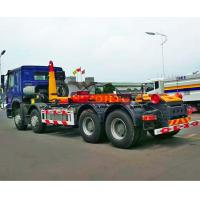 China Hydraulic Waste Hook Lift Bin Truck , 30m3 Heavy Duty Rubbish Collection Truck on sale