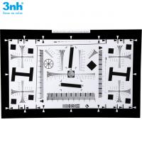 Quality iso 12233 standard 3nh brand resolution test chart 2000 lines camera test  for vertical line test (0.5x, 1x, 2x, 4x, 8x) for sale