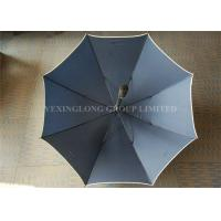 Quality Flip Proof Personalized Golf Umbrellas , Outdoors Large Heavy Duty Rain Umbrella for sale