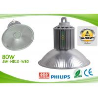 Quality Light Weight Led Warehouse Lighting 80w 8000lm AC85 - 277V Led Workshop Lamp for sale