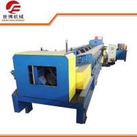 Quality C Purlin Roll Forming Machine Hydraulic Punching Automatic / Manual Control for sale