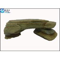 Buy Simulation Stone Bench Handmade Non-toxic Resin Ornaments Home Aquarium Accessories at wholesale prices
