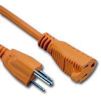 Quality UL certificated 3 Prong US AC Power Cord Cable NEMA 5-15P/IEC320-C19 for sale