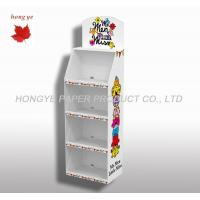 China Portable Cardboard Display Stands For Books , Display Case Stands on sale