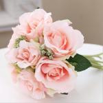Quality Handmade Silk Wedding Bouquet for sale