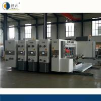 Quality Auto Flexo Printer Slotter Machine / Carton Manufacturing Machine High Speed for sale