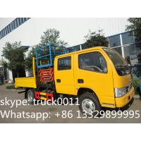 Quality Dongfeng XBW Scissor type truck with bucket lift for sale