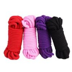 Quality Cotton Bondage Sex Toys SM Bondage Slavery Clothing Restraint Soft Rope for sale