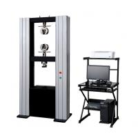 Buy cheap computer universal tensile strength of steel plate testing machine Universal tensile strength of steel strap price from wholesalers