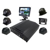 Quality Black Box Kit 8 Channel Mobile DVR 4G AHD 720P Security Surveillance System for sale