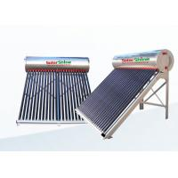 Quality High Density Portable Solar Water Heater With Aluminum Alloy Frame for sale