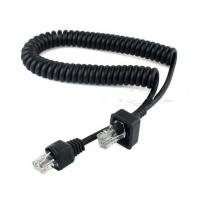 Quality Coiled 8P8C extension cable For Motorola ICOM for sale