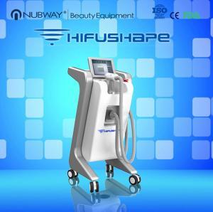 China 2015 latest technology high intensity focus ultrasound weight loss HIFU machine on sale