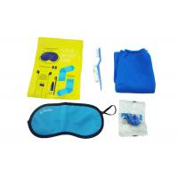 Quality Original Airline Amenity Kits / Five Contents Pack In Fresco Bag Travel Set for sale