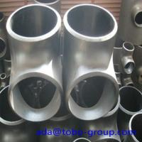 Quality Stainless Steel Pipe Tee A403 Wp304L Straight Tee Asme B16.9 Size 1/2 - 60 inch for sale