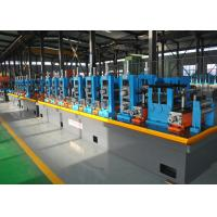 Quality Blue ERW API Pipe Mill / High Frequency API Tube Welding Machine for sale
