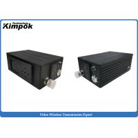 Quality H.264 2W Mini COFDM Transmitter , RF SD Transmitter and Receiver System for sale