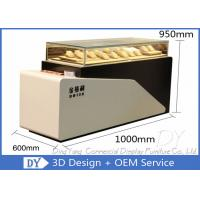Buy cheap Fashionable Jewelry Showcase Display , Stainless Steel Jewellery Counter from wholesalers