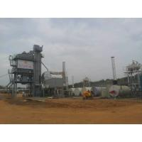 Quality 2 Stage Bag Filtering Asphalt Batch Mix Plant With 5 Cold Feeders 180T Output for sale