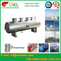 Quality 1000 Ton gas fire steam boiler mud drum TUV for sale