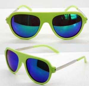 Quality AC Lens Retro Plastic Frame Sunglasses With 400UV Protection for sale