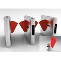 Quality Metro Anti - pinch Flap Barrier Gate Matching Of Various Identification Systems for sale