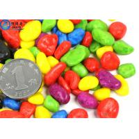 Buy Non-toxic Colorful Grass Cylinder Sand Stone / Pebbles For Aquarium Fish Tanks Decorations at wholesale prices
