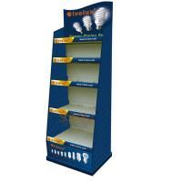 China Advertising Retail Floor Display Stands Terminal For Lamb Supermarket on sale