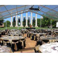 Quality Sound-Proof Waterproof Conference Clear Span Structure Tent For 100 People for sale