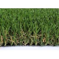 Buy cheap V Shape Landscaping Artificial Grass Synthetic Clean 50mm GSV4 SGS Approved from wholesalers