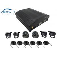 Quality 8 Channel HDD 4G GPS WIFI  Basic MDVR AHD H.264 video mobile DVR for Bus with Mouse Operation for sale