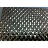 Quality Embossed Stainless Steel Sheets / 304 Stainless Sheet Checked Surface Finish for sale