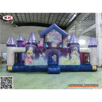 Buy cheap Custom PVC Rent Girls Princess Inflatable Jumping Castle For Garden Playground from wholesalers