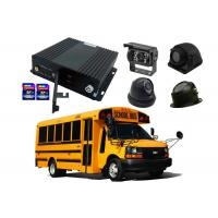 Quality SD Card Mobile DVR 4 channel with 4G GPS WIFI for Option for Bus for sale