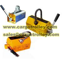 Quality Permanent lifting magnet price list for sale