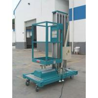 Quality Light Weight Mobile Aluminum Work Platform Double Mast For Two People Working for sale
