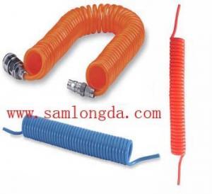 Quality Polyurethane Spiral coil tube, high pressure pu hose for sale