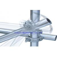 Buy Hot Dipped Galvanized Steel Scaffold Tube / Pipe For Construction ASTMA53, at wholesale prices