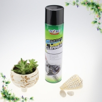 Quality 650ml Car Care Products Anti Static Dry Foam Upholstery Cleaner For Car Seats for sale
