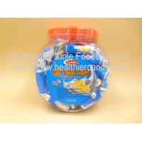 Quality Low Calorie Energy Roll Milk Candy Sugar Tablet Compressed Jar Packed for sale
