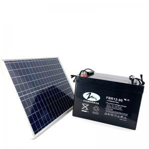 Quality 79Ah 10HR 5.25V Solar Lead Acid Battery 12v 90ah Deep Cycle Battery for sale