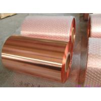 Quality High Conductivity Casting PCB Copper Foil Roll , Copper Metal Sheets for sale