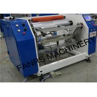 Buy Semi-automatic Aluminum Foil Roll Rewinding Machine For Small Foil Roll Kitchen Use Food Packaging at wholesale prices