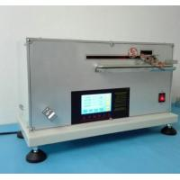 Quality Textile Testing Equipment Fabric Automatic Stiffness Tester With Bending Length And Stiffness for sale