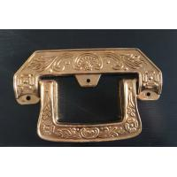 Quality Gold Silver Or Copper Funeral Accessories coffin handles for Coffin Decoration for sale