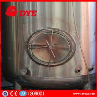 Buy High Efficiency Small Bright Beer Tanks 2mm Thickness Easy To Operate at wholesale prices