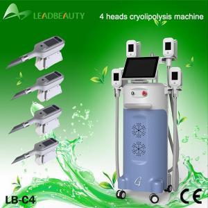 Quality Cavitation Beauty Cryolipolysis Slimming Machine / Cryolipolysis Equipment Skin Lifting for sale