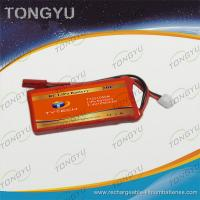Quality High Energy 2S RC Airplane Battery Pack Lithium Polymer 1050mAh for sale